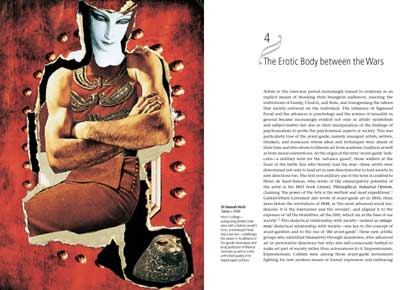 Image of spread from Eroticism and Art