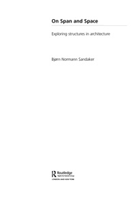 Image of title page from On Span and Space (Routledge)