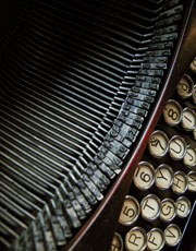 Photograph of Typewriter.