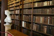 Photograph taken in the Upper Library, Christ Church, Oxford